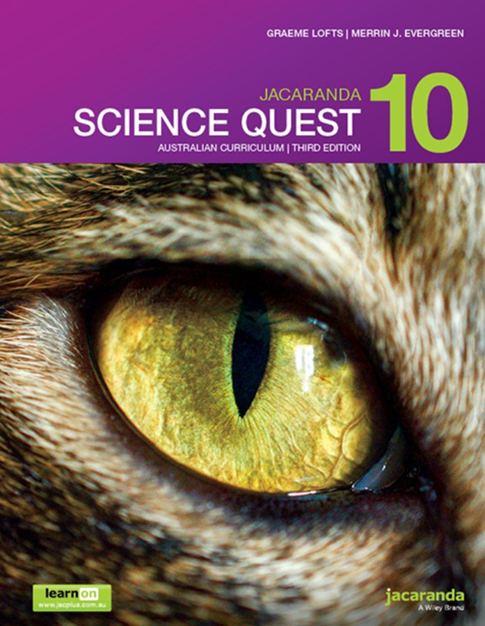 Jacaranda Science Quest 10 Australian Curriculum 3E LearnON & Print