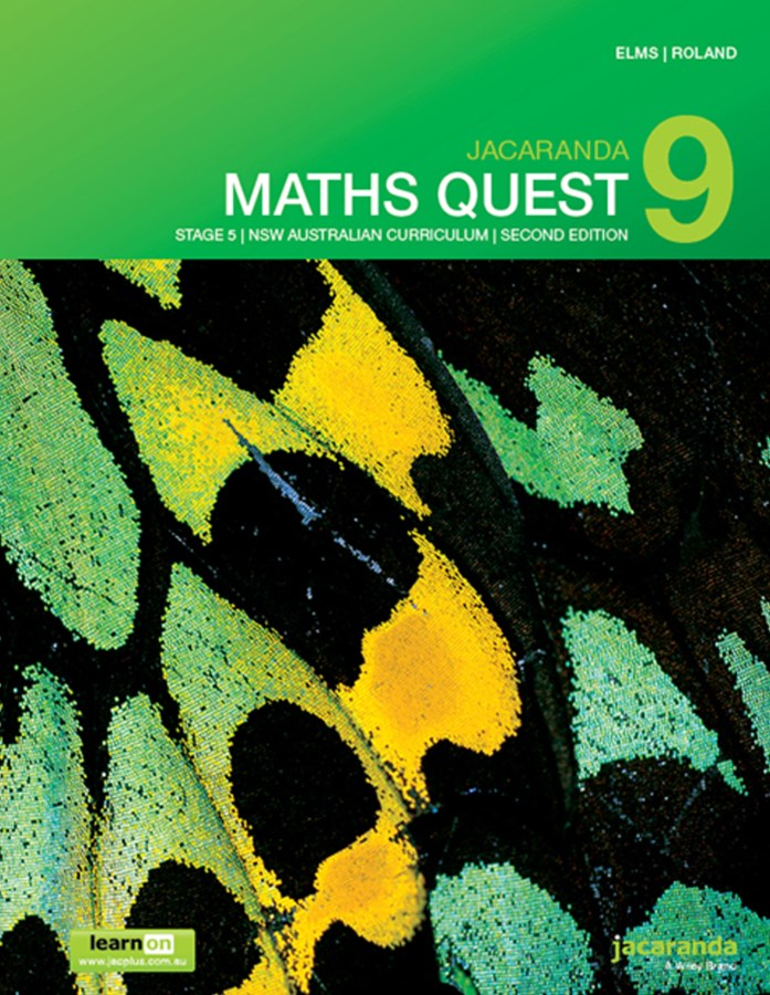 Jacaranda Maths Quest 9 Stage 5 NSW Australian Curriculum 2E LearnON & Print