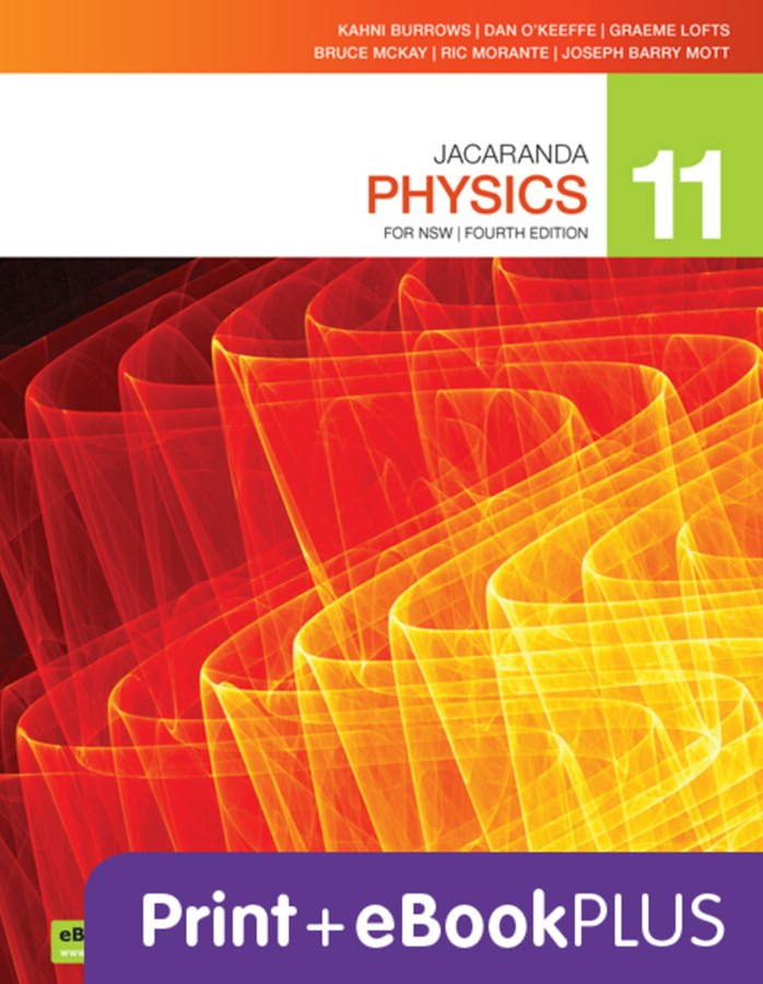 Jacaranda Physics 11 4E for NSW eBookPLUS & Print