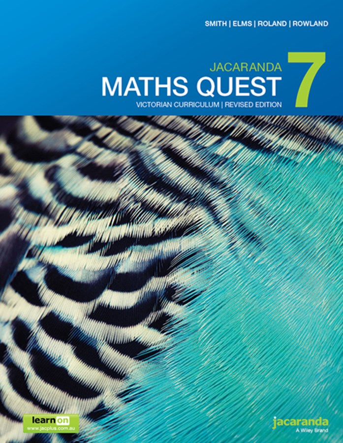 Jacaranda Maths Quest 7 Victorian Curriculum 1E (Revised) LearnON & Print