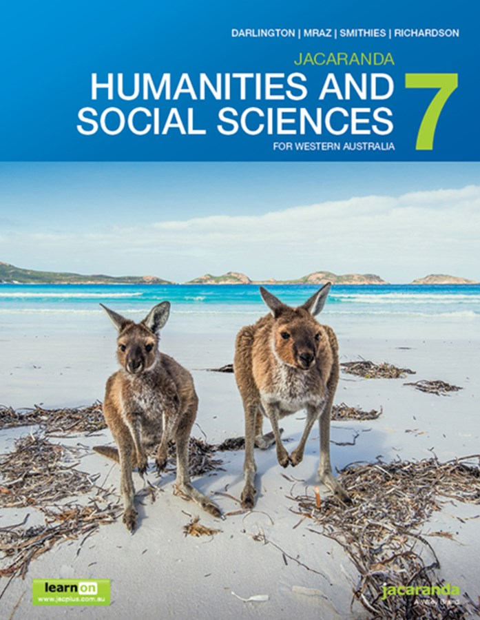 Jacaranda Humanities and Social Sciences 7 for Western Australia LearnON & Print