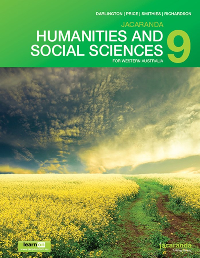 Jacaranda Humanities and Social Sciences 9 for Western Australia LearnON & Print