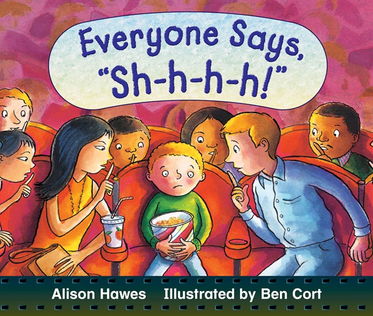 Rigby Literacy Early Level 2: Everyone Says Sh-h-h-h! (Reading Level 7/F&P Level E)