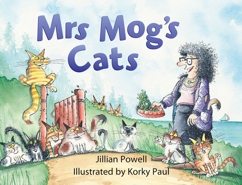 Rigby Literacy Early Level 2: Mrs Mog's Cats (Reading Level 9/F&P Level F