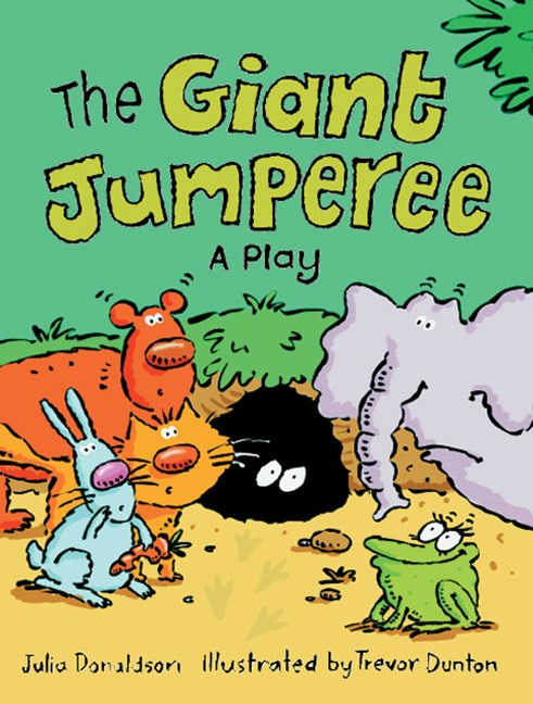 Rigby Literacy Fluent Level 1: The Giant Jumperee: A Play (Reading Level 12/F&P Level G)