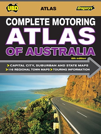 UBD GREG COMP MOTORING ATLAS OF AUST 8ED