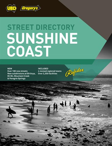 Sunshine Coast Refidex Street Directory 9th