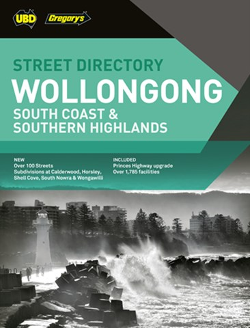 Wollongong,South Coast & Southern Highlands Street Directory 23rd