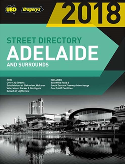 Adelaide Street Directory 2018 56th