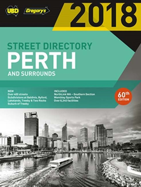 Perth Street Directory 2018 60th