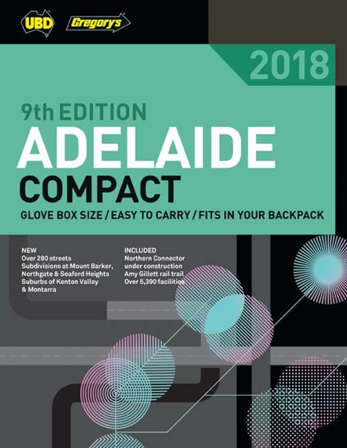 Adelaide Compact Street Directory 2018 9th
