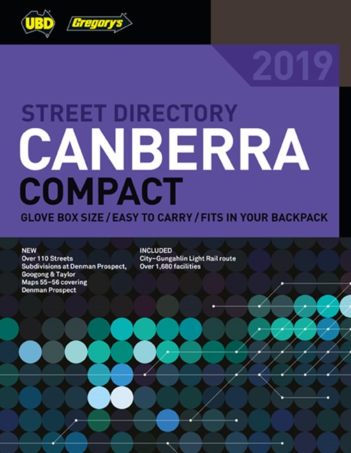 Canberra Compact Street Directory 2019 7th