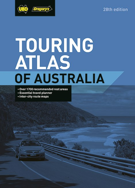 Touring Atlas of Australia 28th
