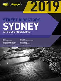 Sydney & Blue Mountains Street Directory 2019 55th