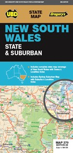 NSW State & Suburban Map 270 28th ed - Travel Maps & Street Directories