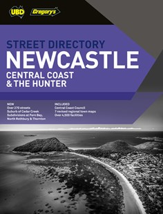 Newcastle Central Coast & The Hunter Street Directory 8th ed by  (9780731931866) - PaperBack - Travel Maps & Street Directories