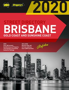 Brisbane Refidex Street Directory 2020 64th ed by  (9780731932085) - PaperBack - Travel Maps & Street Directories