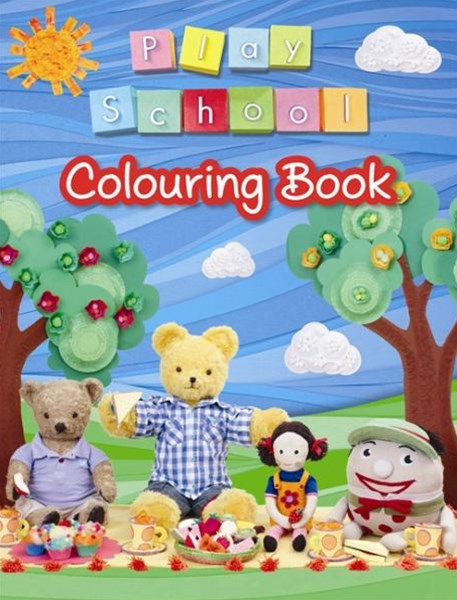 Play School Colouring Book