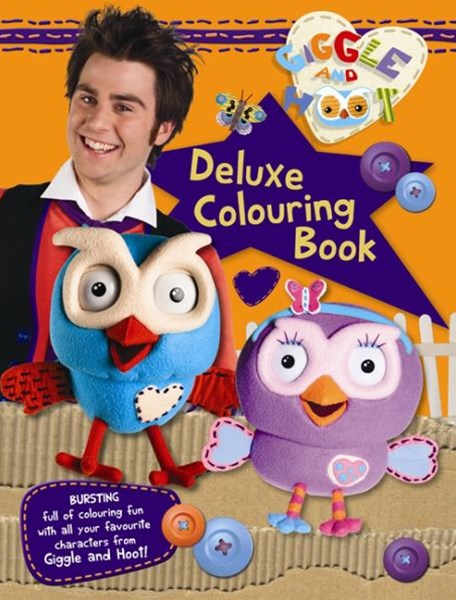 Giggle and Hoot Deluxe Colouring Book