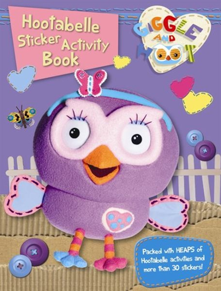 Hootabelle Sticker Activity Book