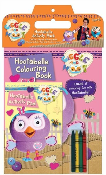 Hootabelle Activity Pack