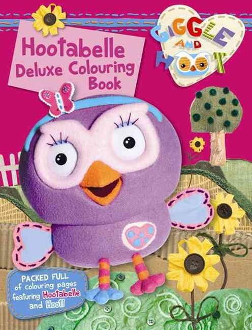 Hootabelle Deluxe Colouring Book