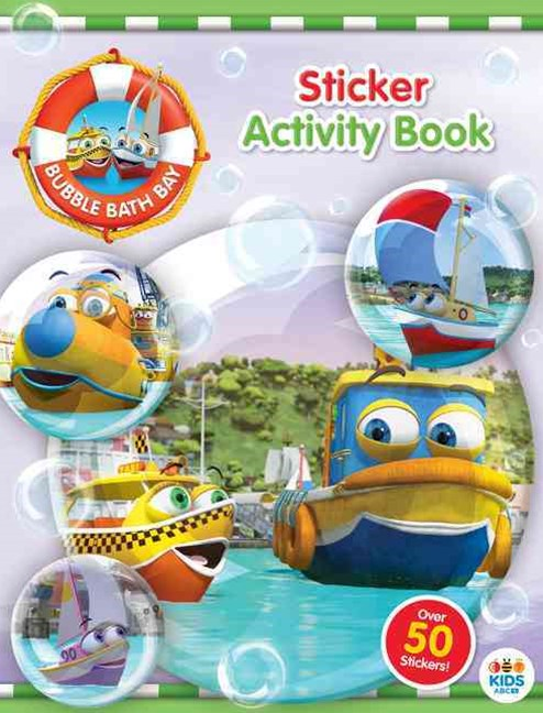 Bubble Bath Bay Sticker Activity Book