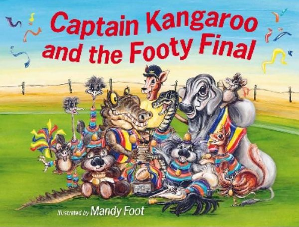 Captain Kangaroo and the Footy Final