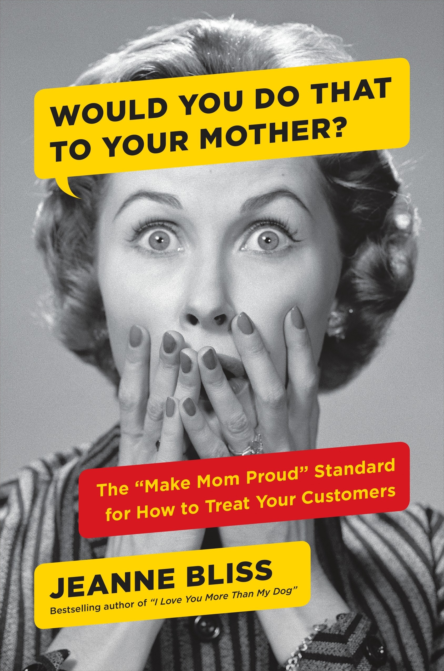 Would You Do That To Your Mother?: The &quote;Make Mom Proud&quote; Standard for How to Treat Your Customers
