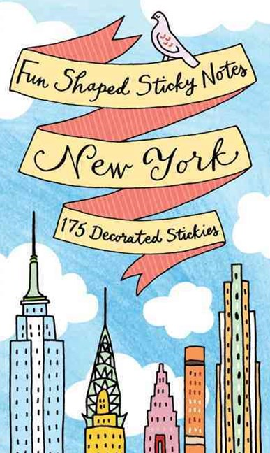 New York City Shaped Sticky Notes