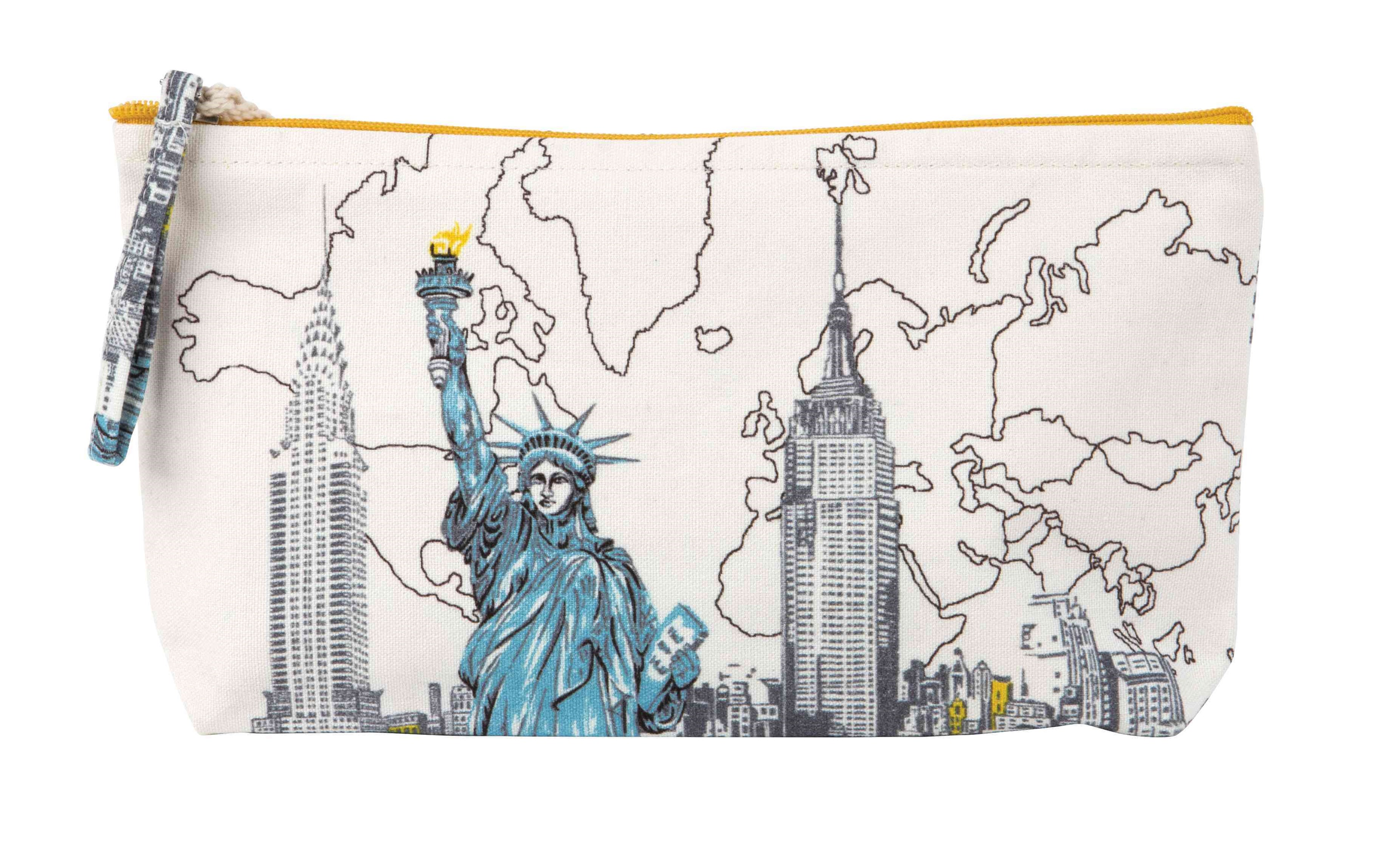 New York Liberty Handmade Pouch