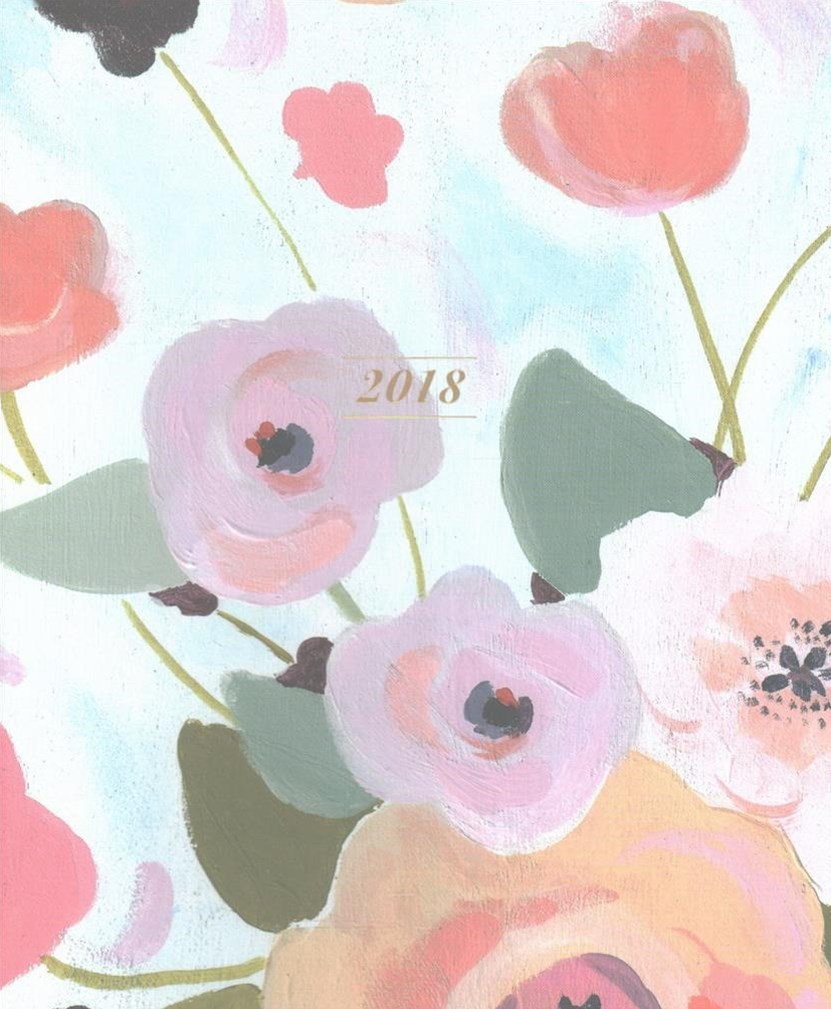 Painted Petals 2018 Planner