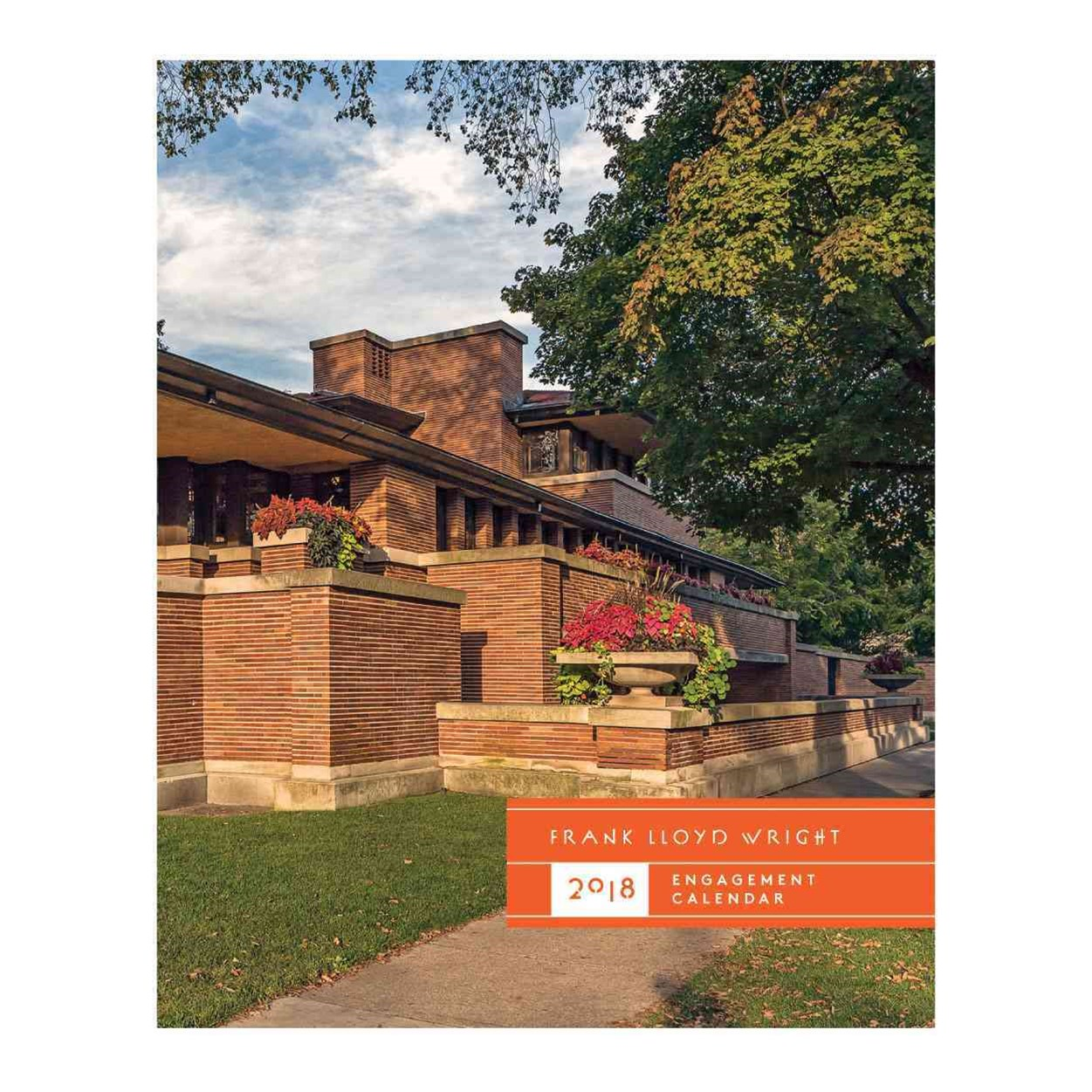 Frank Lloyd Wright 2018 Engagement Calendar