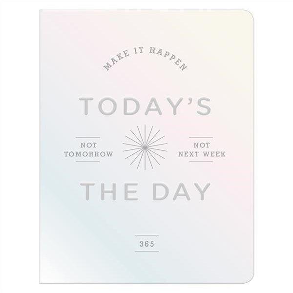 Today's the Day Holographic Deluxe Pocket Undated Planner