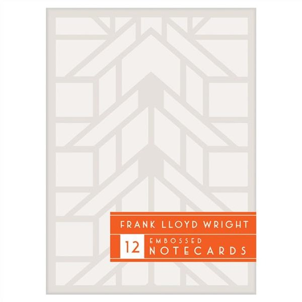 Frank Lloyd Wright Designs Embossed Notecard Set