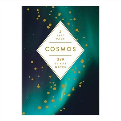 Cosmos Sticky Notes Book