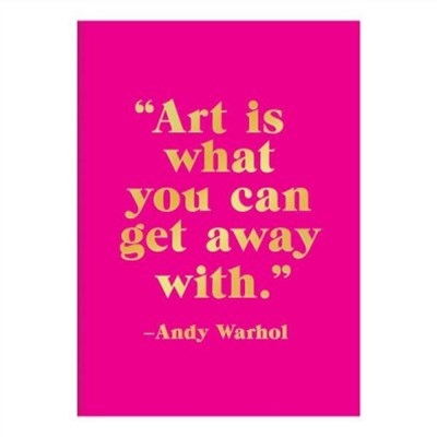 Andy Warhol Sticky Notes Book
