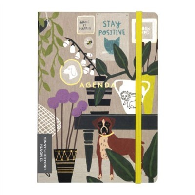 Anne Bentley Inspired Life Gilded Undated Planner