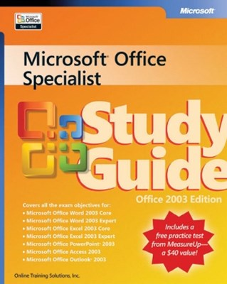 (ebook) Microsoft® Office Specialist Study Guide Office 2003 Edition