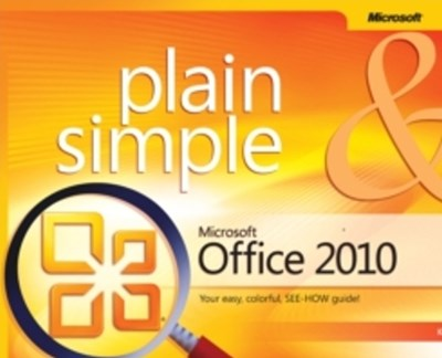 (ebook) Microsoft Office 2010 Plain & Simple