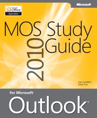 (ebook) MOS 2010 Study Guide for Microsoft® Outlook®