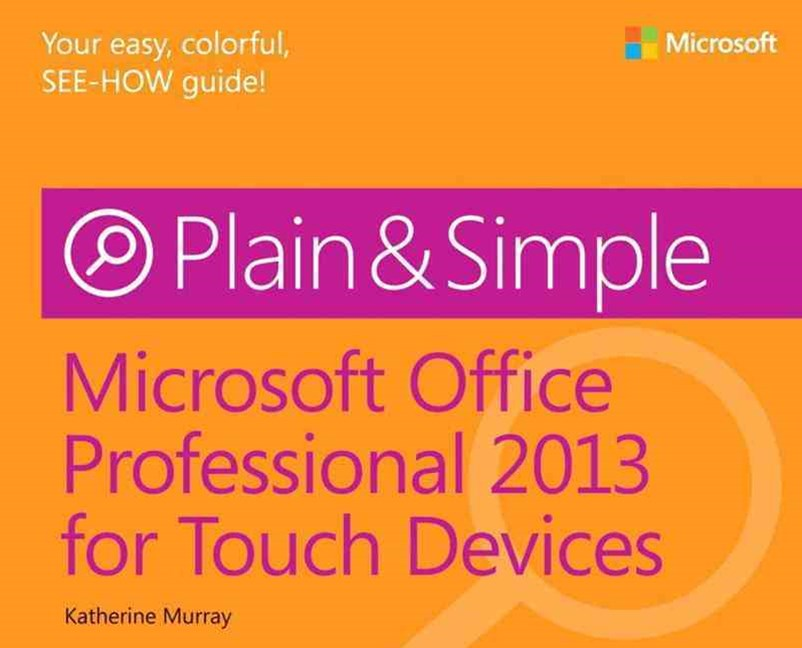 Microsoft Office Professional 2013 for Touch Devices