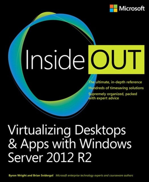 (ebook) Virtualizing Desktops and Apps with Windows Server 2012 R2 Inside Out