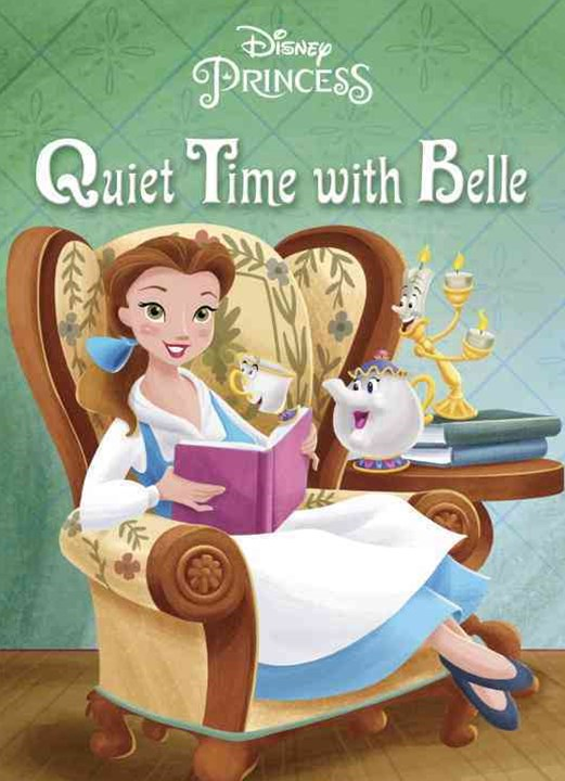 Quiet Time with Belle (Disney Princess)