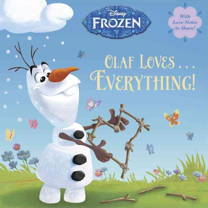 Olaf Loves ... Everything! (Disney Frozen)