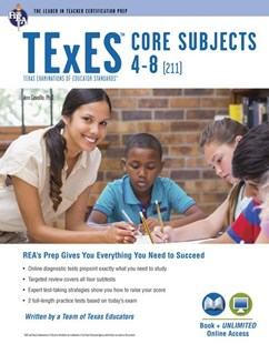 Texes Core Subjects 4-8 211 + Online by Cavallo, Ann M. L./ Curtis, Mary D./ Semingson, Peggy/ Hulings, Melissa/ Allmond, Karen, Mary D. Curtis, Peggy Semingson (9780738611976) - PaperBack - Education Study Guides
