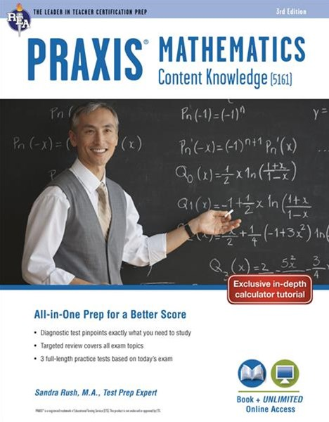 Praxis Mathematics: Content Knowledge (5161) Book + Online