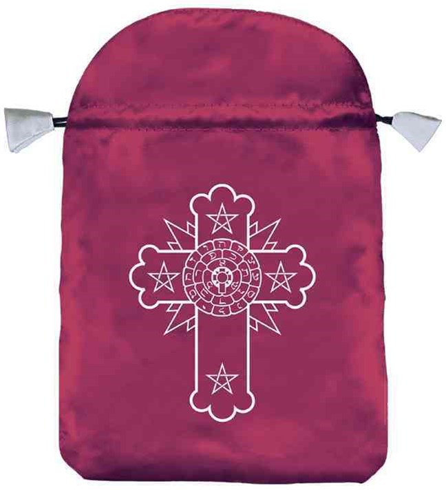 Rosicrucian Satin Bag