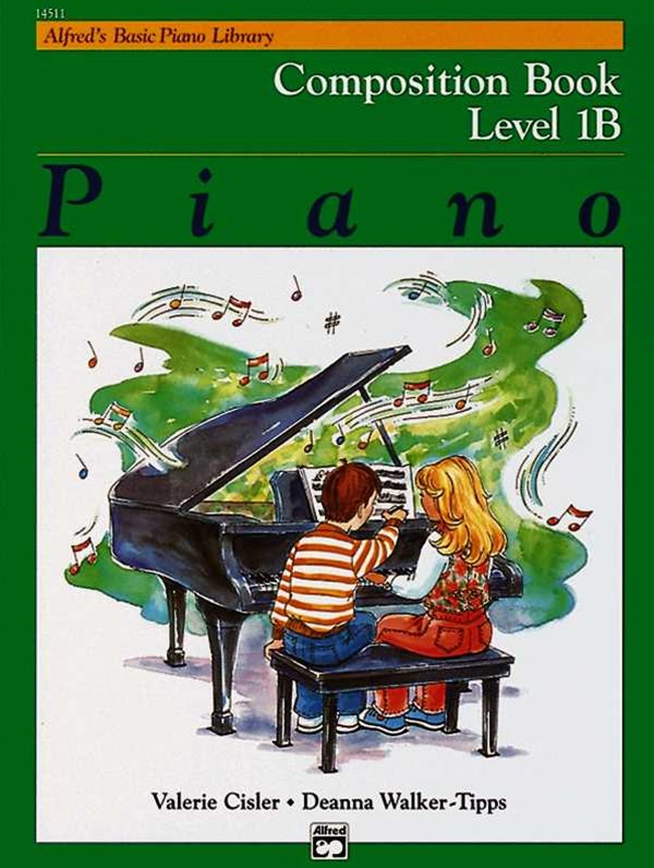 Alfred's Basic Piano Composition Book, Level 1B