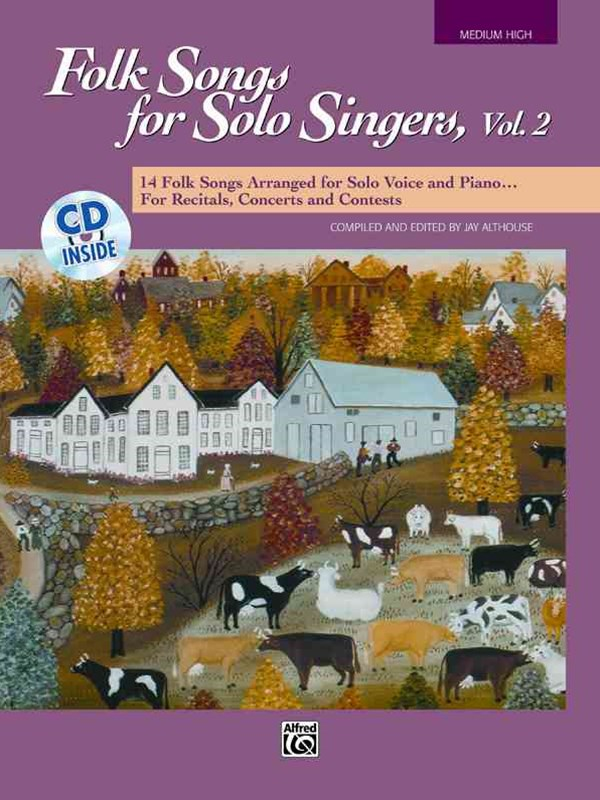 Folk Songs for Solo Singers, Vol 2